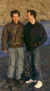 Juan and me at Goat's Head Beach, CA in 1992