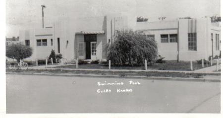 Colby Swimming Pool, a WPA project