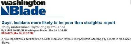 Washington Blade headline